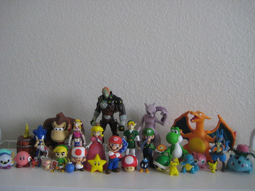 Smash Bros Characters Fall 2009 My Collection Of