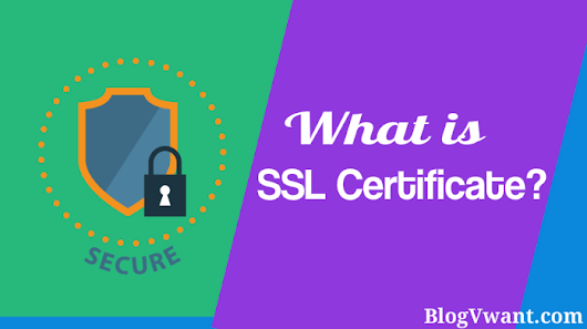 What is An SSL Certificate? How A Blog Gets Benefit from it? - BlogVwant