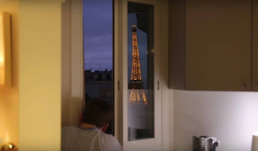 This Man Built A Giant Periscope So He Could See The Eiffel Tower While Lying In Bed