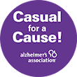 Casual for a Cause – the Alzheimer's Association