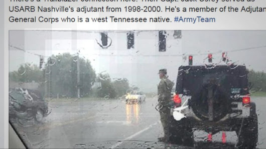 Video: Photo of soldier who saluted funeral procession goes viral