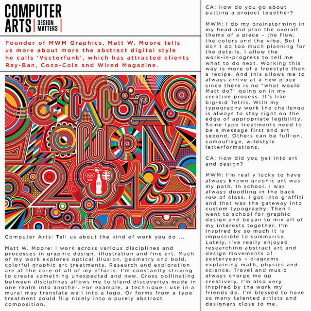 Interviewed : Computer Arts.