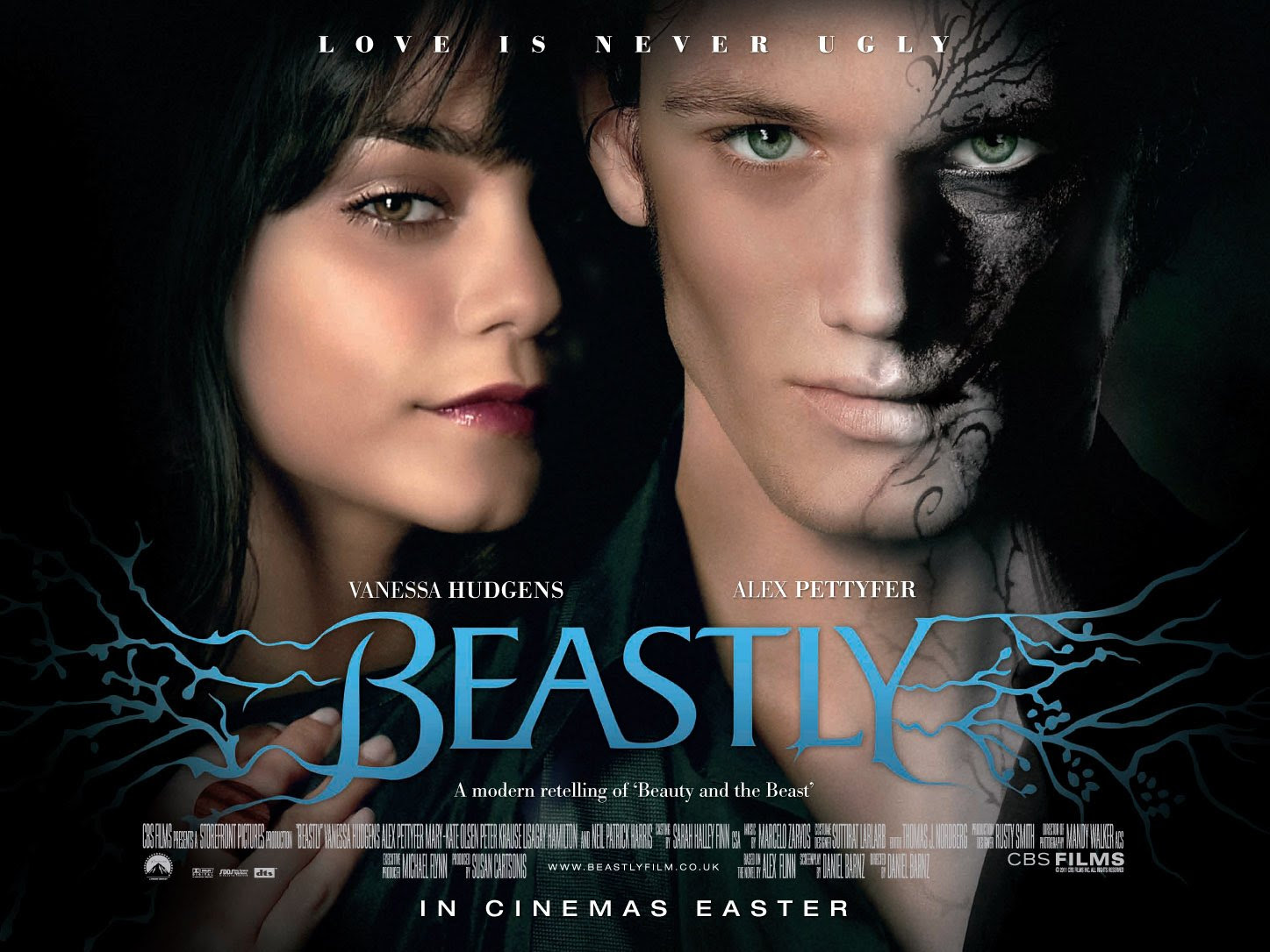 Znalezione obrazy dla zapytania beastly movie poster