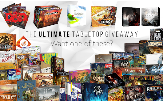 Ultimate Tabletop Giveaway