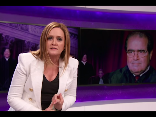 "Samantha Bee to Mitch McConnell: ""What better way to honor America's greatest champion of original intent than by wiping your obstructionist ass on the very document he holds so dear"""
