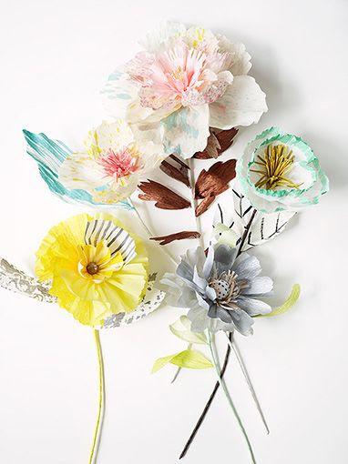 Get You Inspiration #9 Fiori di Carta/ Paper Flowers