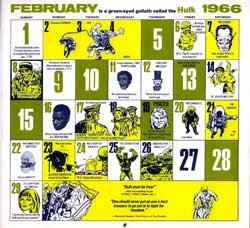 Marvel February 1966