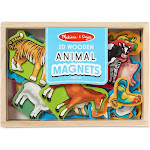 Melissa & Doug Magnets, Wooden Animals - 20 magnets
