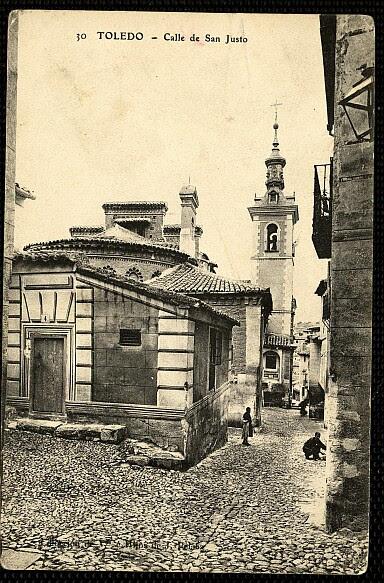 Iglesia de San Justo (Toledo) antes de 1910