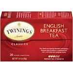 Twinings English Breakfast Black Tea - 20 count, 1.41 oz box
