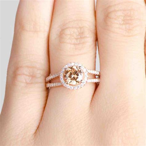 Cheap Rose Gold Engagement Rings   Wedding and Bridal