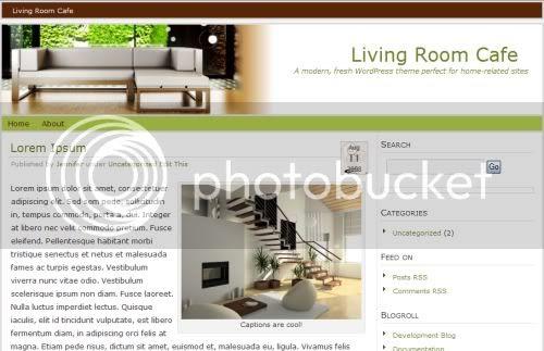 Home Interior Design Wordpress Theme Template