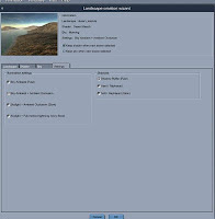 Landscape Settings - Click to Zoom