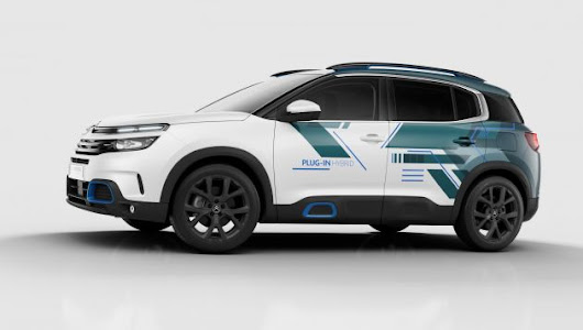 Citroen previews C5 Aircross PHEV | Next Green Car