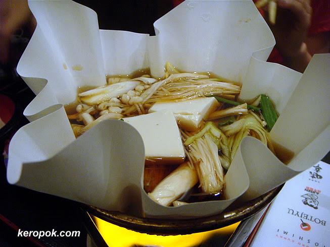 Sukiyaki - the Paper Pot