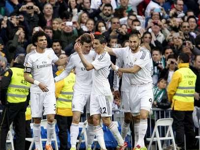 Bale deixou sua marca em vitória do Real Madrid neste sábado Foto: EFE