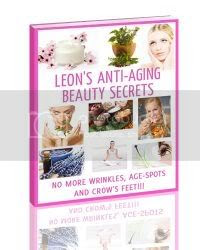 Leon's Anti-Aging Beauty Secrets Ebook