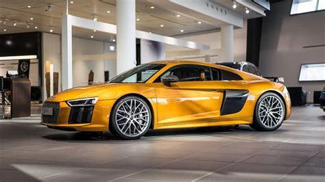Orange Perleffekt Audi R8 V10 Plus by Audi Exclusive   GTspirit
