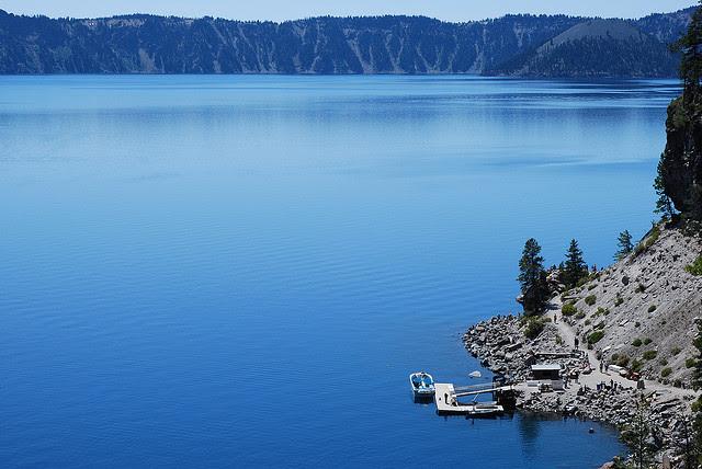 Perierga.gr - Λίμνη σε κρατήρα!