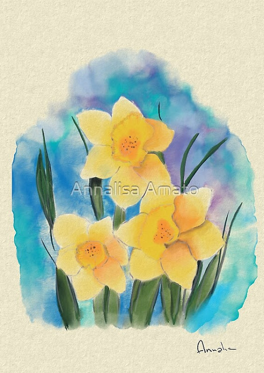 'Daffodils 2' by Annalisa Amato
