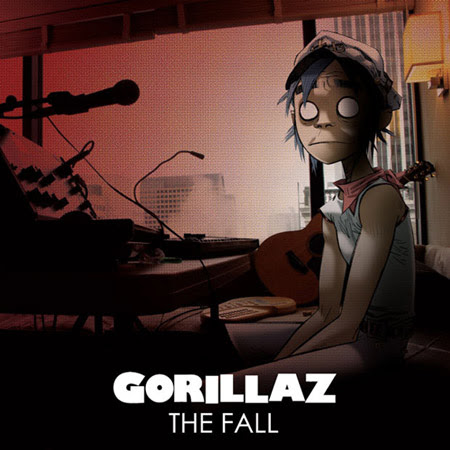 Gorillaz The Fall iPad