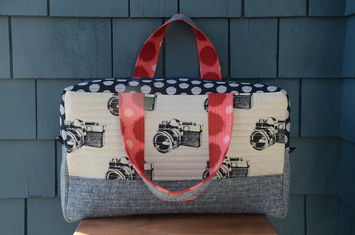 Noodlehead's Cargo Duffle by Poppyprint