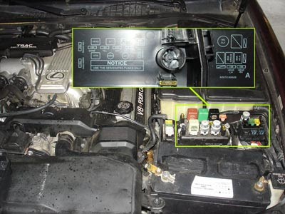 1996 Lexus Ls400 Fuse Box Diagram - Wiring Diagram Schemas