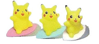 Sufing Pikachu Bandai Pokemon Kids