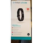 Fitbit Alta HR, Black, Large (International Version)