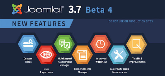 Joomla! 3.7.0 Beta4 Released