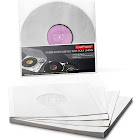 """TunePhonik Paper Inner Sleeves w/ Poly Lining to Protect 12"""" LP Vinyl Records"""