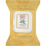 Burt's Bees Facial Cleansing Towelettes with White Tea Extract - 30 count