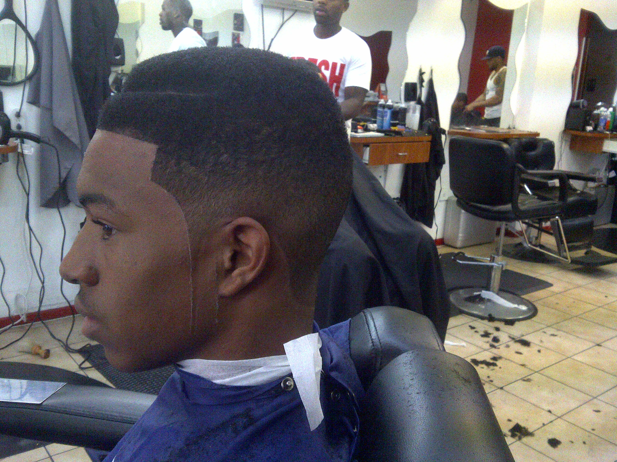 High Top Fade 2015 New Hair Style