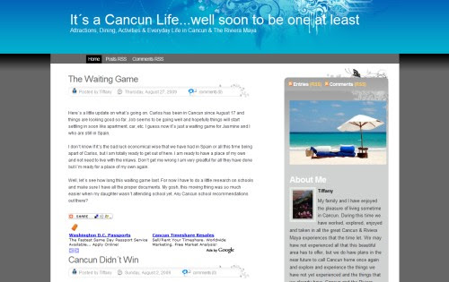 It´s a Cancun Life... well soon to be one at least