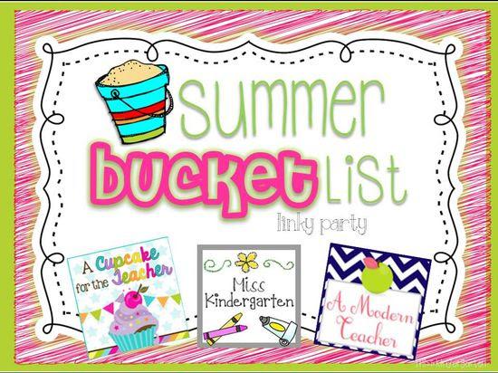 Summer Bucket List Linky!