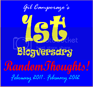 RandomThoughts First Blogversary