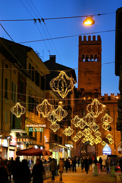 centro storico Bologna Natale