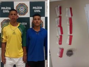 Facebook ajuda a prender suspeitos em Teresópolis (Foto: Divulgação/Polícia Civil)