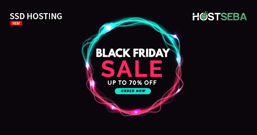 Up to 70% Black Friday Discount