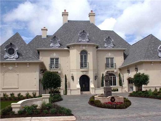 Luxury Houseplans- European Home Design # 8721