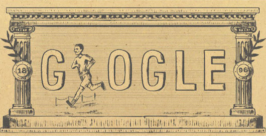 Doodles: 120 Years After The First Modern Olympic Games