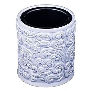 Amazon.com - Blue Porcelain Electric Large Jar Candle ...