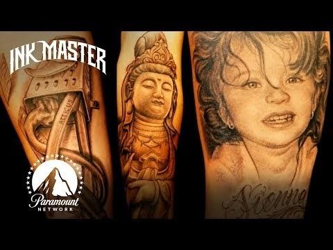 Finished Ink Master Season 1 on Netflix