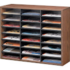 Fellowes - Sorter - 24 compartments - Letter - medium oak