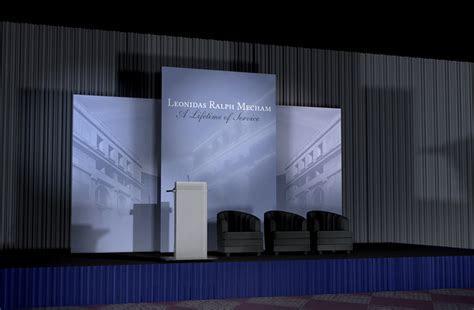 Event Stage Backdrop Design   Taulogik Designs   EIC Stage