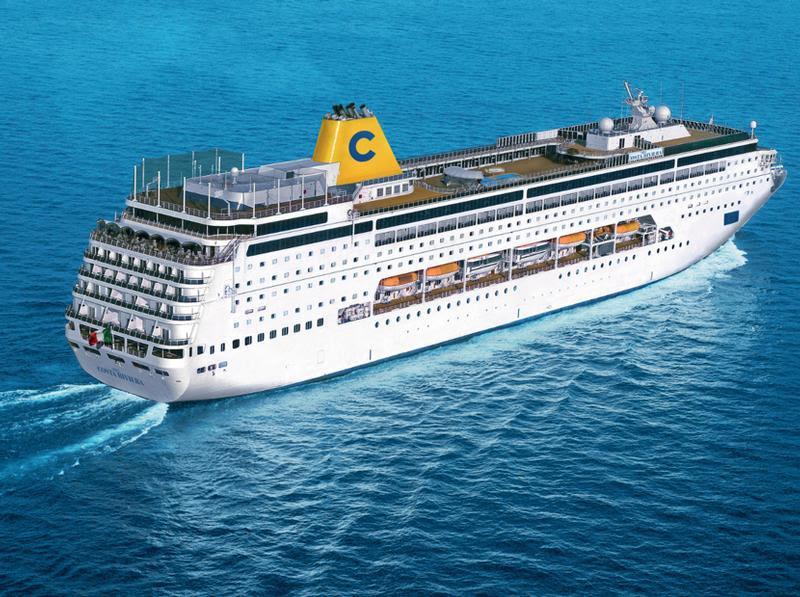 Costa Cruises from Dubai in winter 2013/2014
