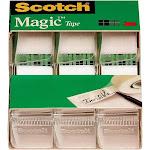 """Scotch Magic Tape, 3/4"""" x 350"""", 3pk, Clear"""