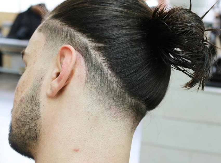 Gaya Rambut Pria Ikat Belakang - Model Rambut Alternatif