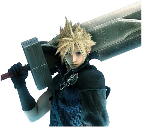 11 cloud strife ffvii Top 20 personagens masculinos mais bonitos dos games