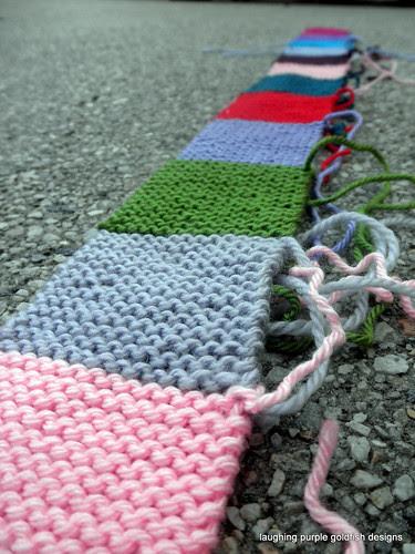 Patchwork Baby Blanket 2011